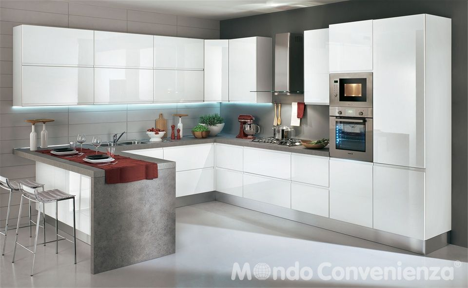 Cucina Alice - Mondo Convenienza | Kitchen | Pinterest | Interiors