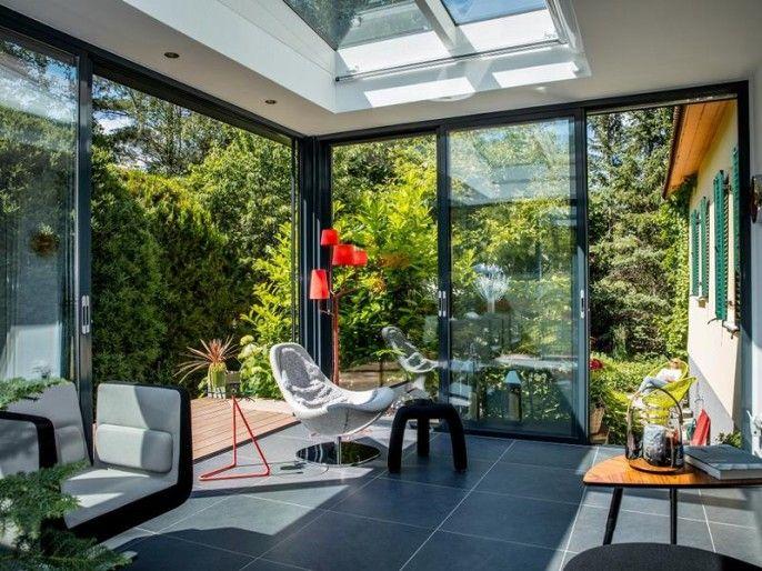 moderne winterg rten mit lichtraum unsere referenzen. Black Bedroom Furniture Sets. Home Design Ideas