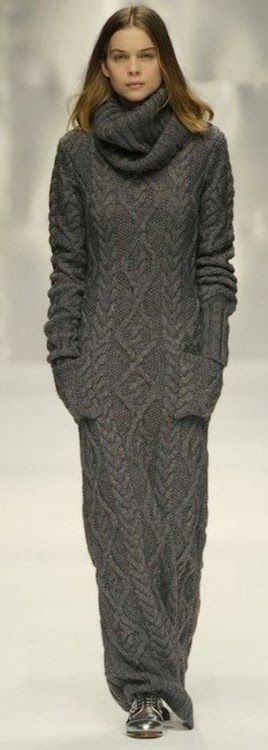Cool Grey Sweater Maxi Dress | Ropa padre | Pinterest | Maxi ...