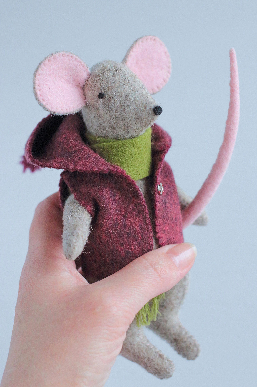 Vintage Mouse Doll PATTERN Primitive Mouse Doll Pattern Country Mouse Doll Sewing Pattern