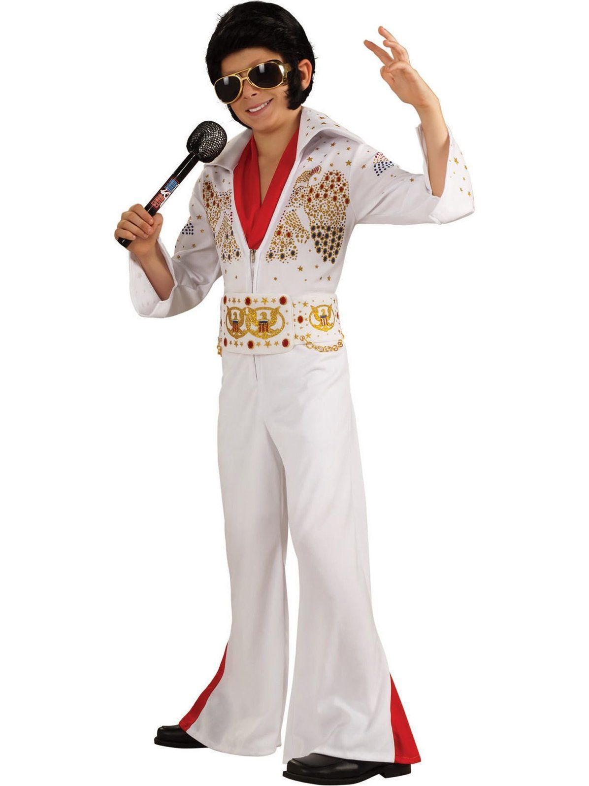 Deluxe Elvis Costume for Kids Elvis costume, Costumes