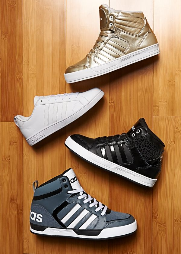 From stylish gold for mom, to classic black for your young athlete, we have all the Adidas Neo styles to keep your family looking fabulous!