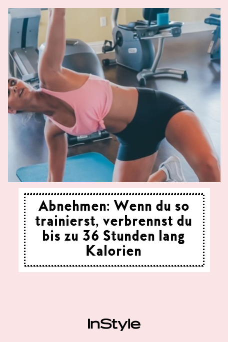 Abnehmen: Wenn du so trainierst, verbrennst du bis zu 36 Stunden lang Kalorien: Sport hilft beim Abnehmen. Doch wusstest du auch, dass du noch stundenlang danach Kalorien auf der Couch verbrennen kannst? Alle Infos: