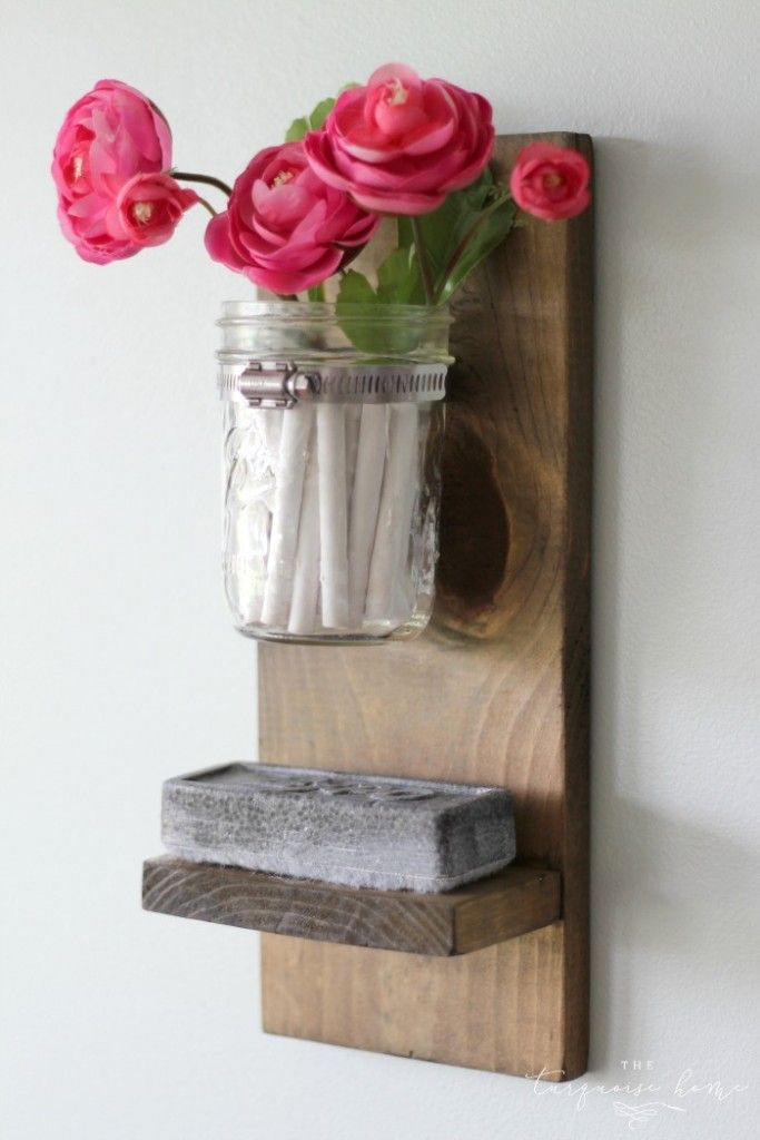 Diy Chalk And Eraser Holder For A Chalkboard Tutorial Theturquoisehome