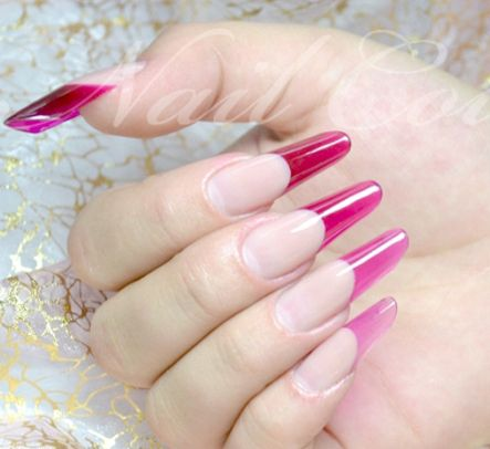 Pink Grant Pipe C Curve Nails Tutorial The Nail Couture