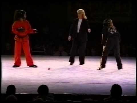 Jessica Prest vs Elizabeth Rosa 1998 Bluegrass Nationals Karate Tournament