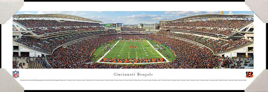 #Cincinnati #Bengals Paul Brown Stadium #NFL #Football #HomeDecor #OfficeDecor #Gifts #Art #Ohio #Professionally #Framed #Poster #Picture