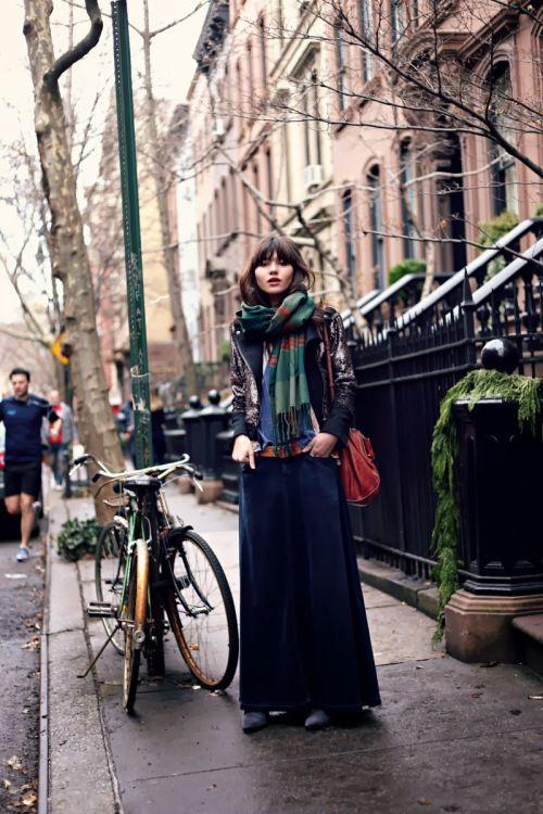 Natalie off Duty via Int Street Style