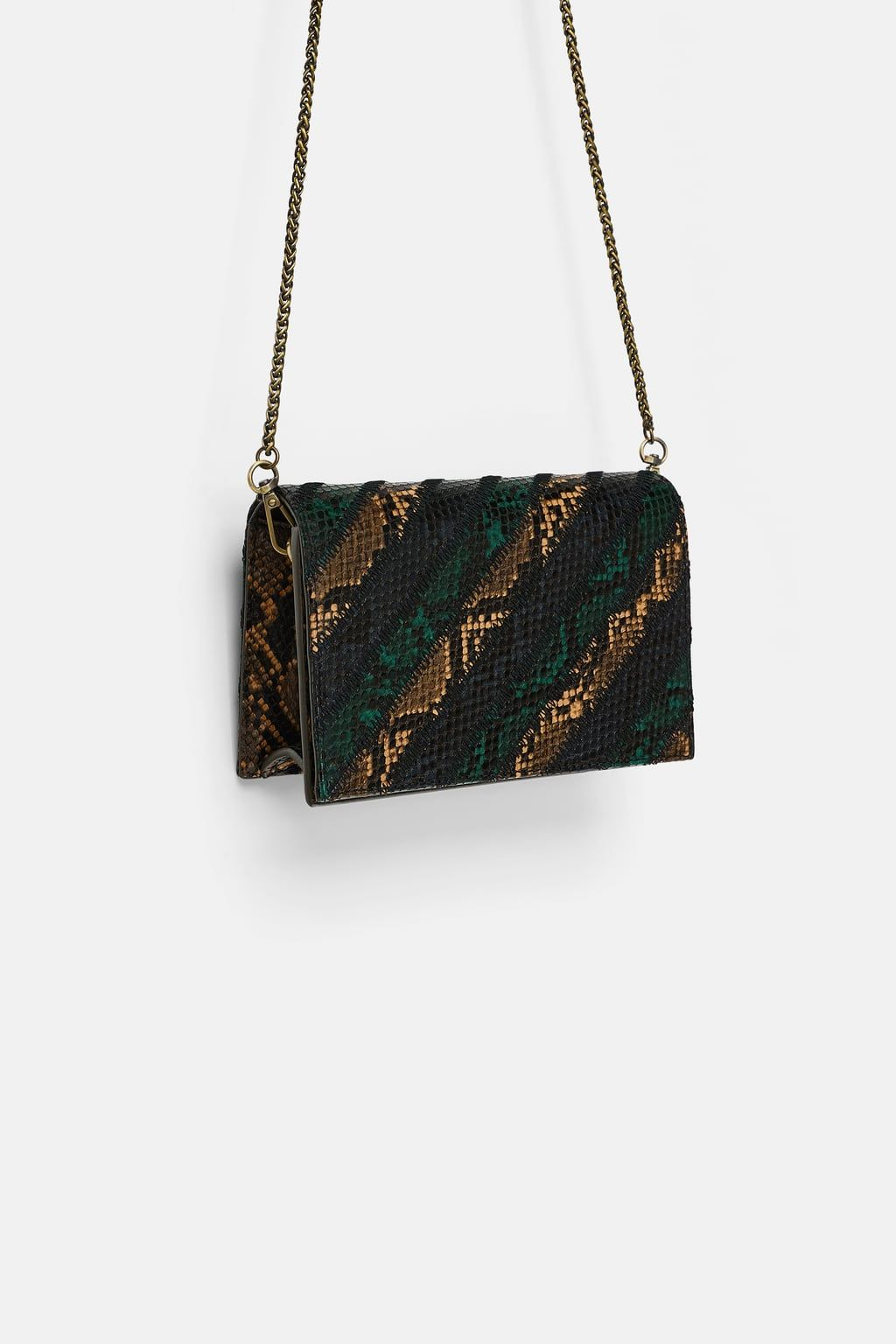 6a10c4f984 Image 3 of STRIPED CROSSBODY BAG from Zara | bags in 2019 | Bags ...