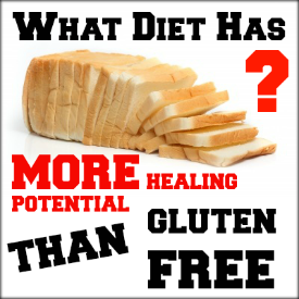 Although the gluten free diet has gained tremendous popularity over the past several years it is NOT the best way to heal the gluten free diet has gained tremendous popularity over the past several years it is NOT the best way to heal