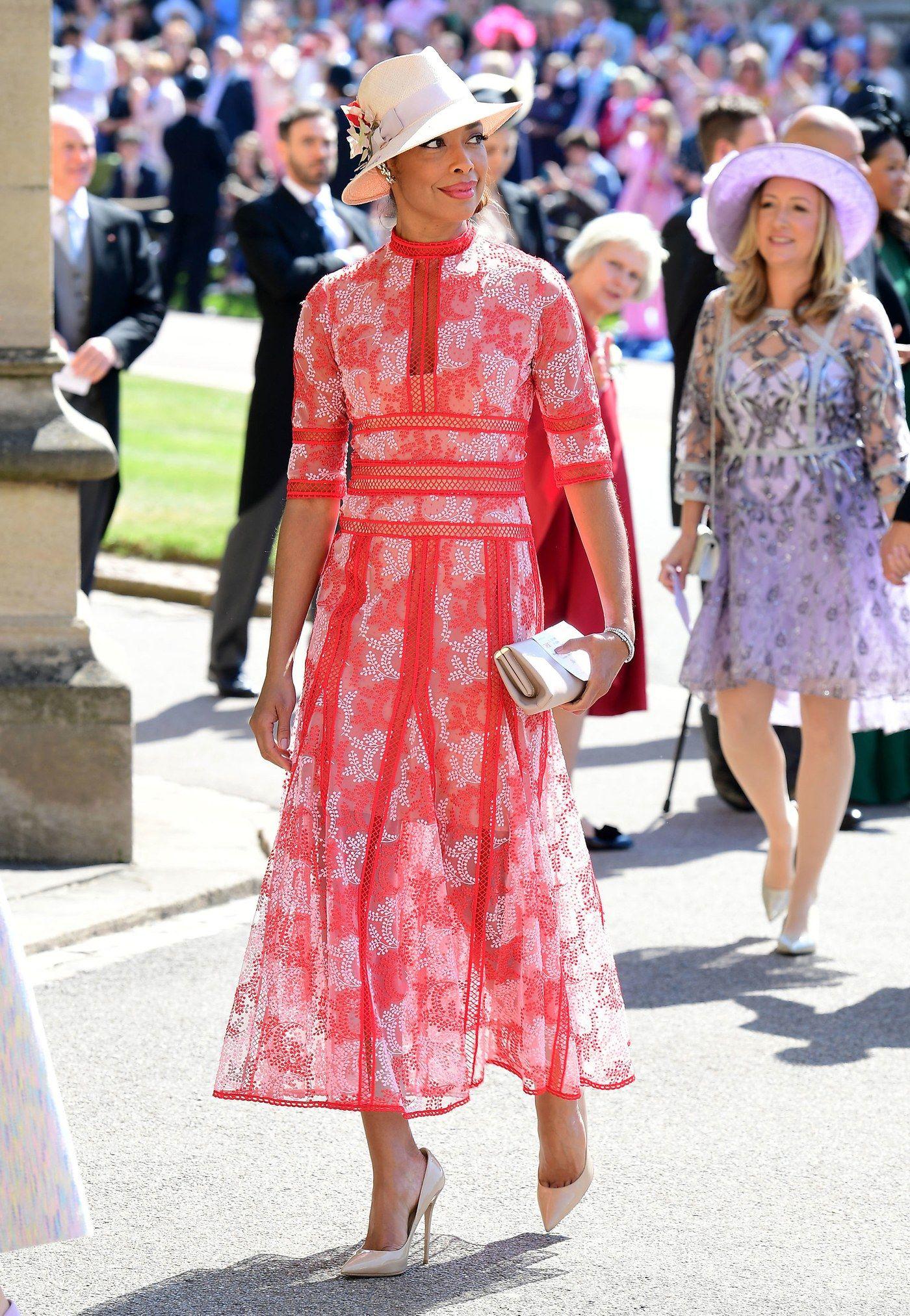 Gina Torres La boda real Meghan Markle y Príncipe Harry | Moda ...