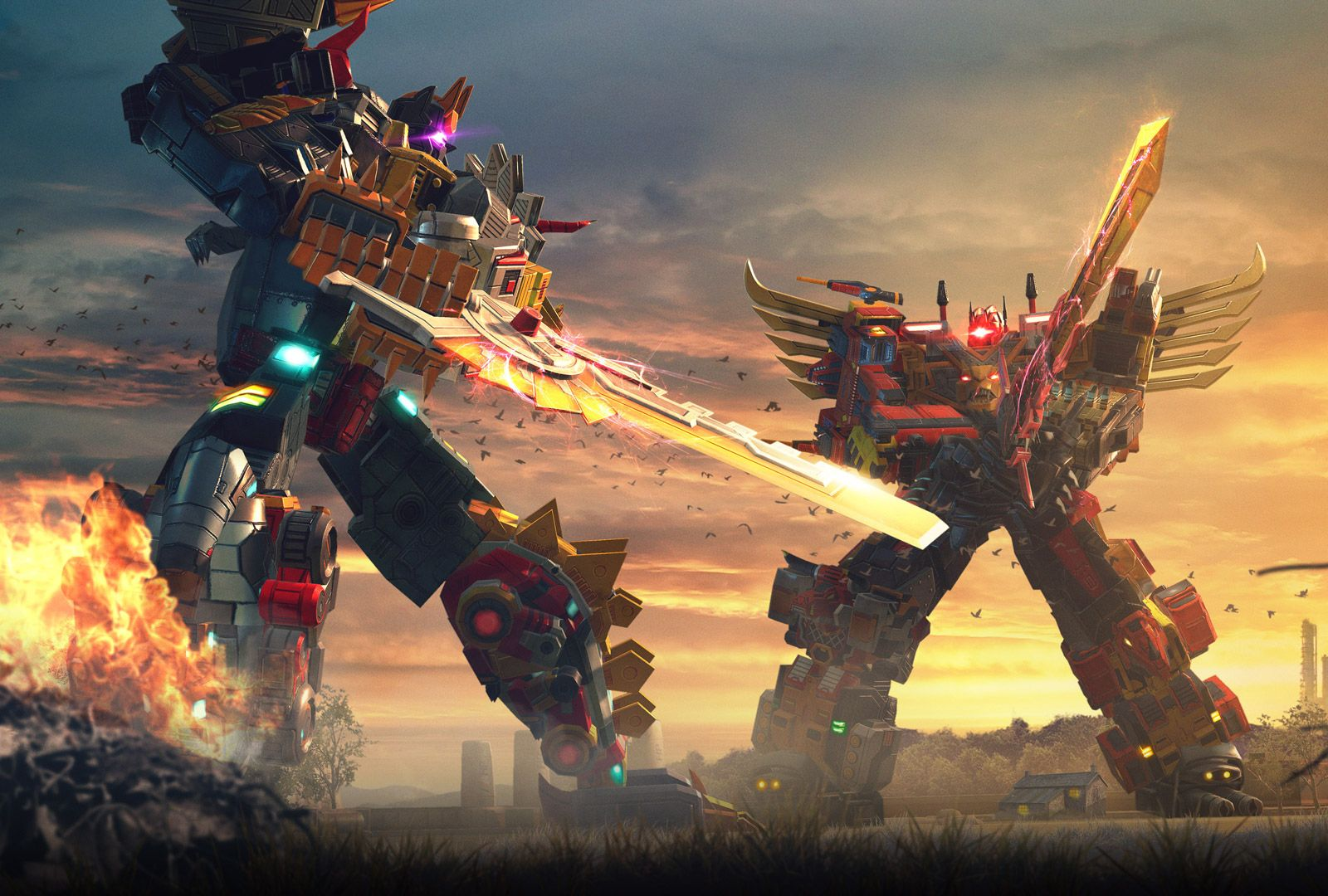 Transformers Earth Wars Developer Diaries featuring Volcanicus and Predaking   Transformers artwork, Transformers, Transformers art