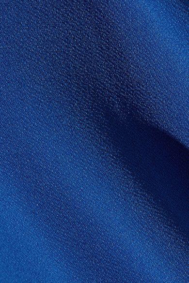 0485d7b9848d By Malene Birger - Nasalio Draped Stretch-crepe Maxi Dress - Royal blue -