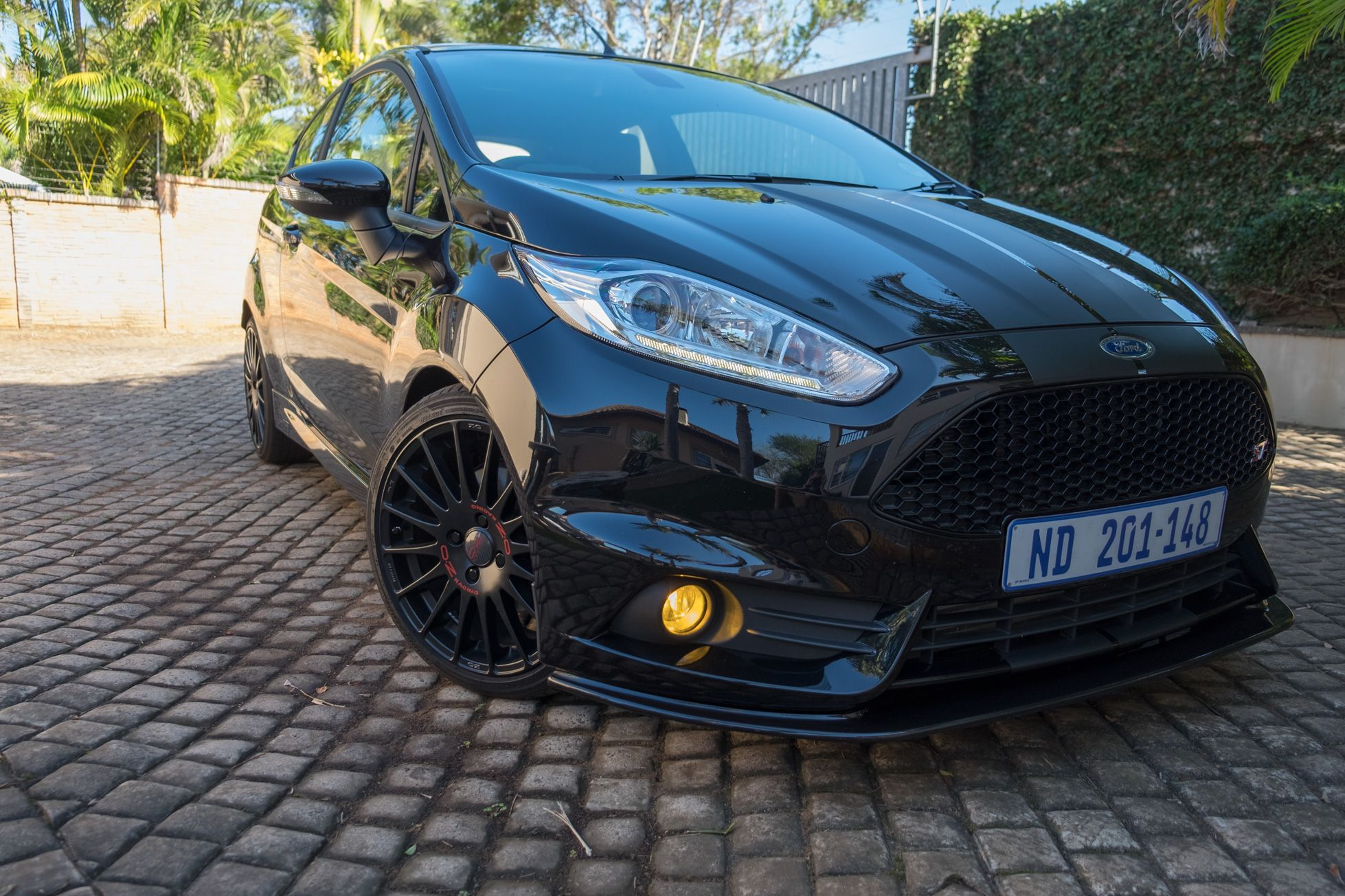 2014 Ford Fiesta St Stealth Black
