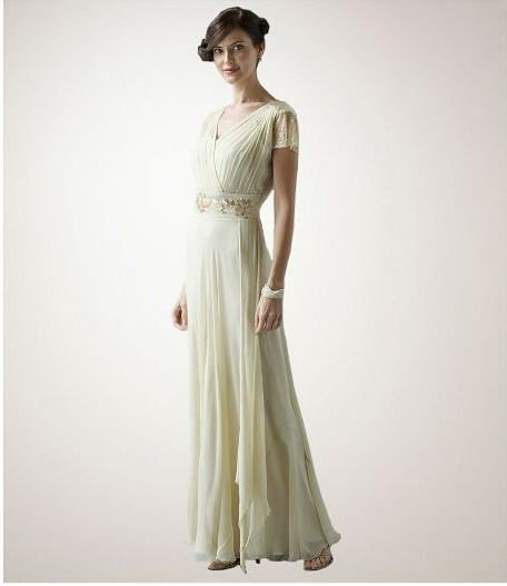 Updated Version Of A 1940 S Wedding Gown Casual Wedding Dress Cheap Vintage Wedding Dresses Vintage Inspired Wedding Gown