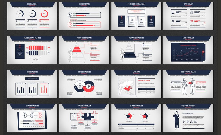 colorful presentation Art + Design Pinterest Powerpoint themes - powerpoint proposal template