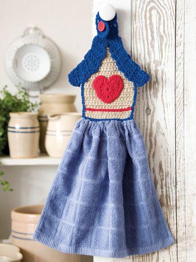 Birdhouse Towel Topper | Kesi\'s Crochet Projects | Pinterest ...