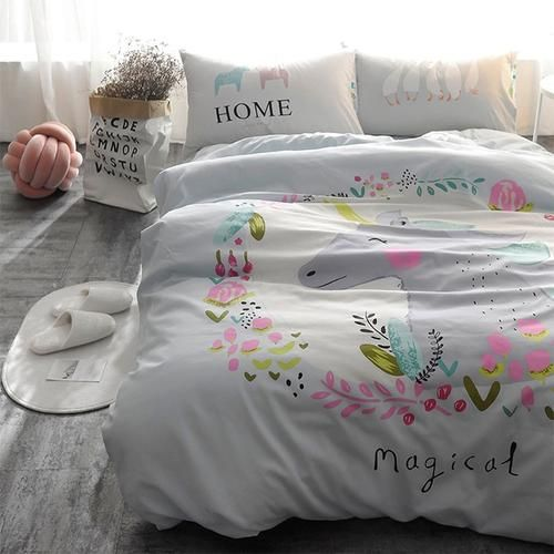 Twin Size Cotton Bedding