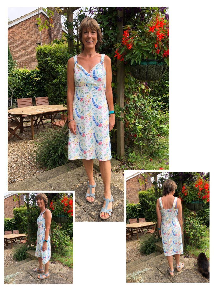 Summer Sundress For Greece Summer Sundress Sundress Dress Sewing Patterns [ 1120 x 840 Pixel ]