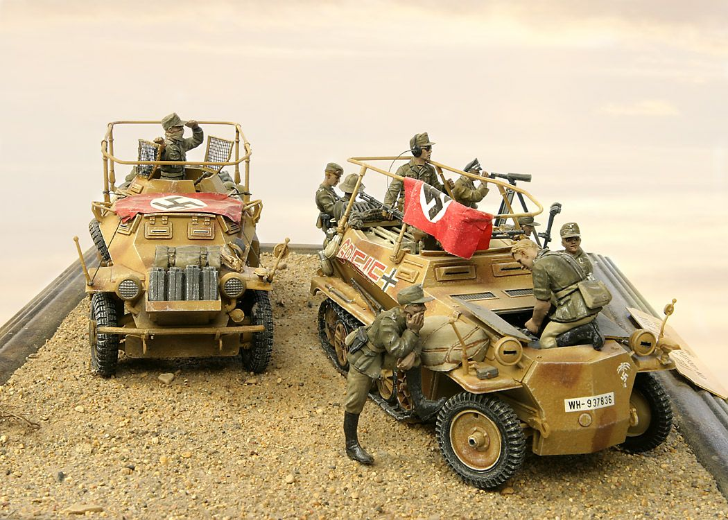 Military Models, Paints, Figures, and Detail Kits like these