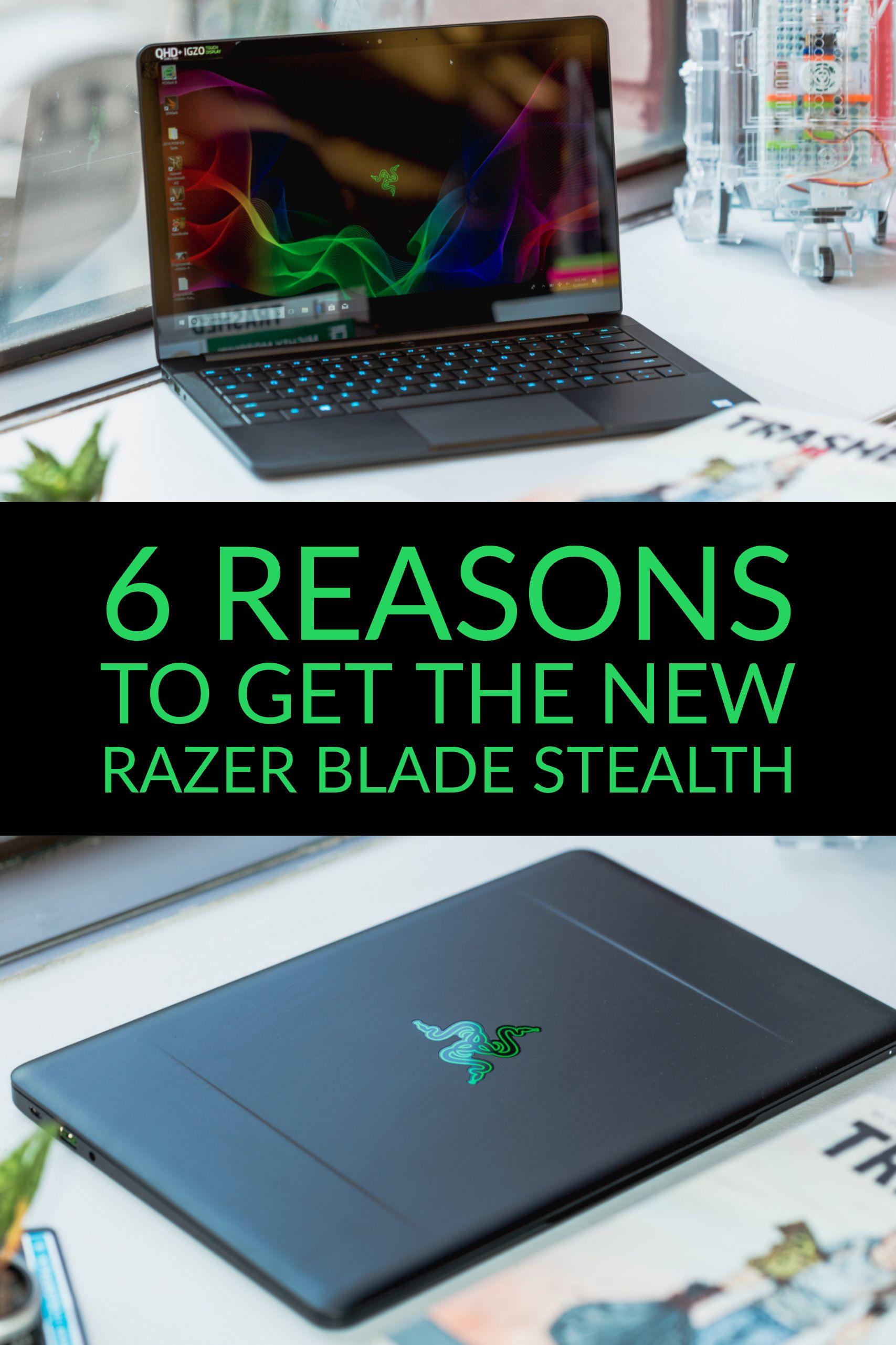 razer blade stealth 13 3 qhd early 2018 laptops pinterest