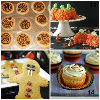Happy Halloween 20 Spooktacular Halloween Desserts FoOd * FaMiLy - halloween dessert ideas