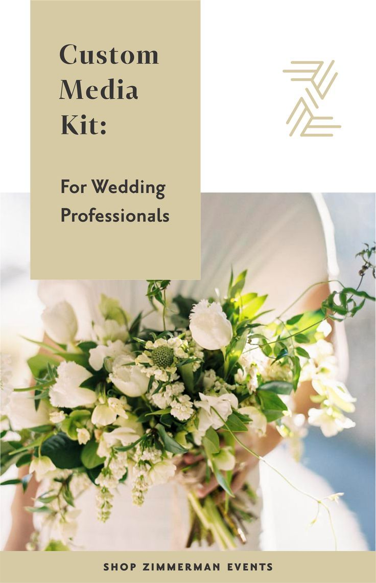 Template Customizable Packet Wedding business