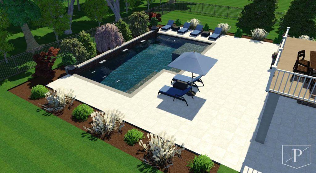 Project Greythorne Precision Pool Spa In 2020 Pool Spa Pool Gunite Pool