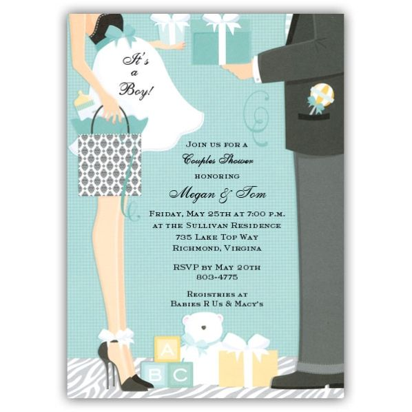 Baby Shower Invitations For Boys | We Apologize, This Item Is Not In Stock  At This Time.