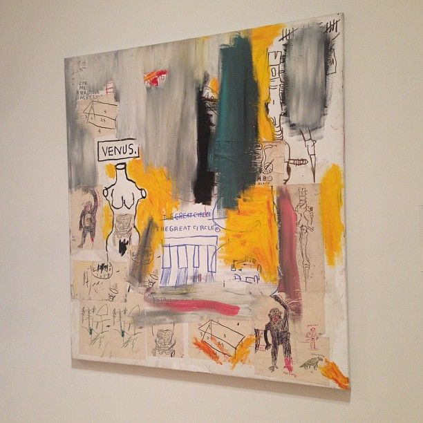 "Jean-Michael Basquiat's ""Untitled (Venus/The Great Circle)"""