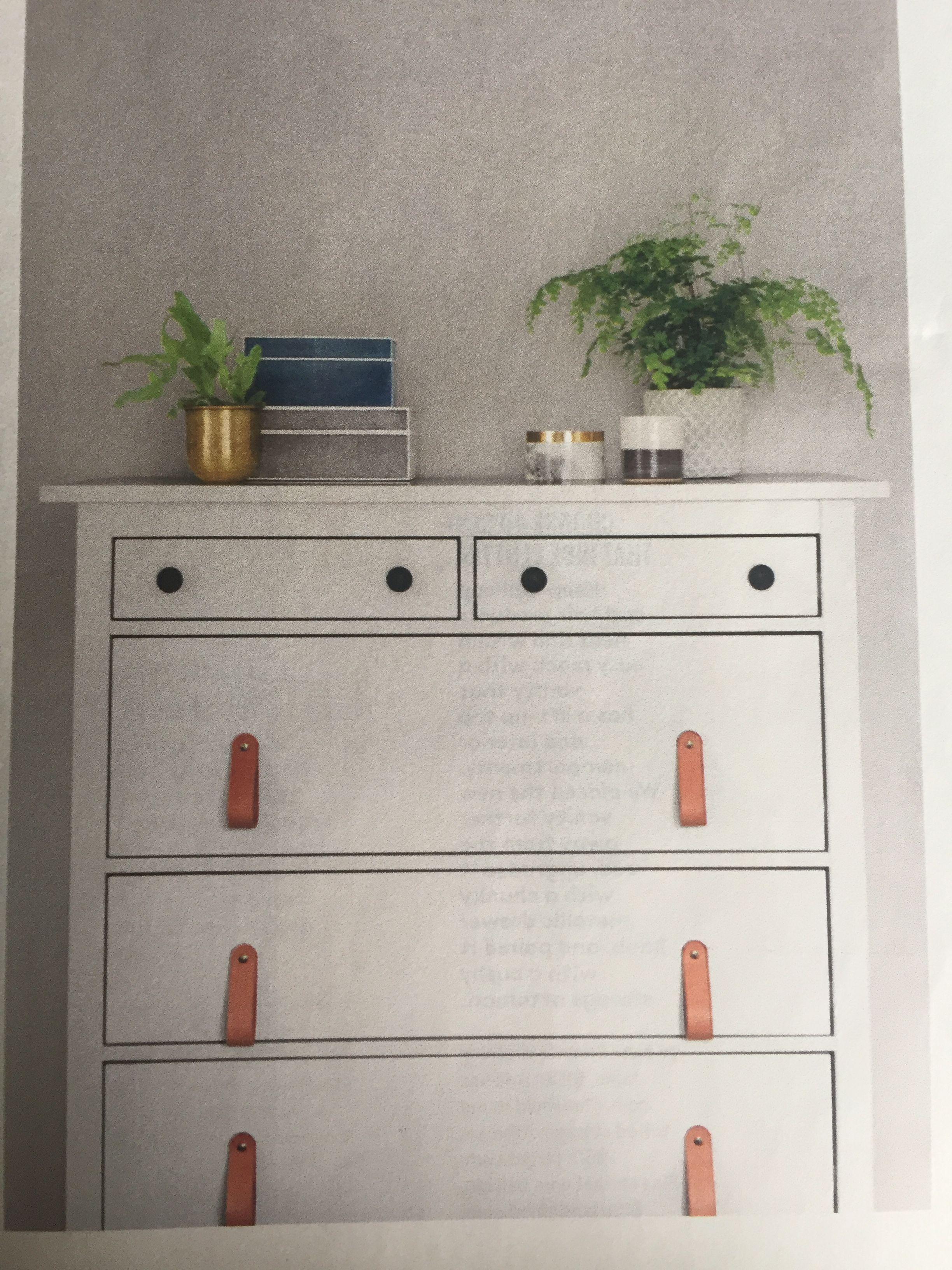 Real Simple May Room refresh uHemnes Ikea Ikeadresser