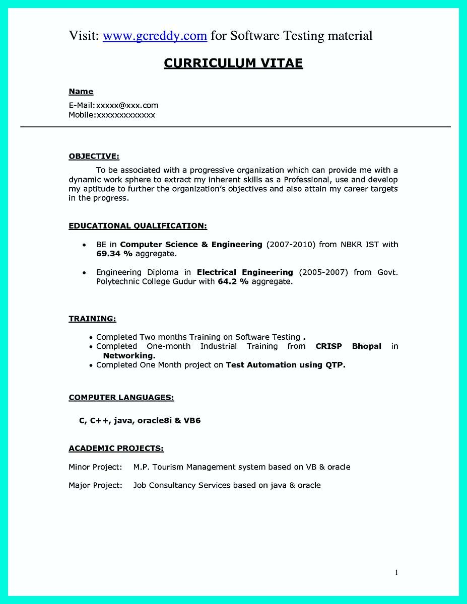 awesome The Perfect Computer Engineering Resume Sample to