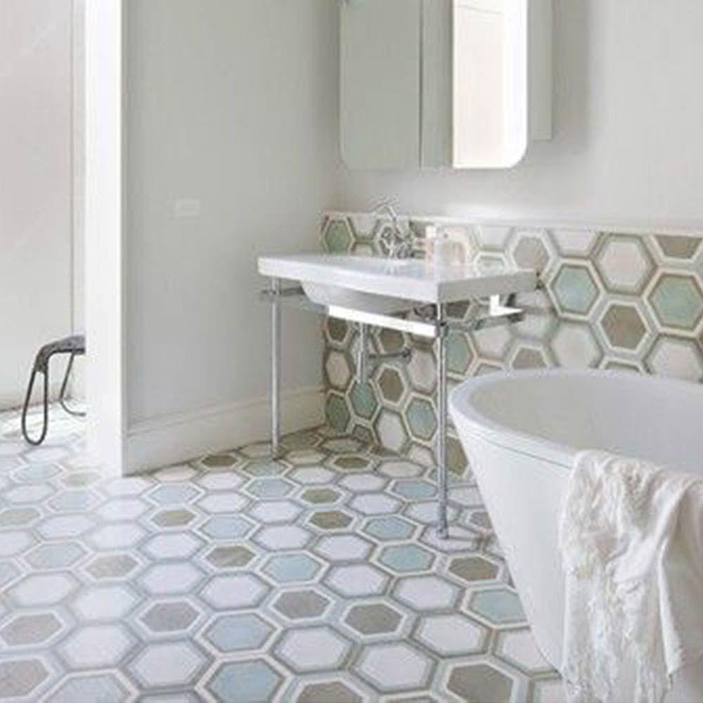 Popham Design  Cement Tiles  Handmade In Morocco  Bathroom Endearing Moroccan Tile Bathroom Design Design Ideas