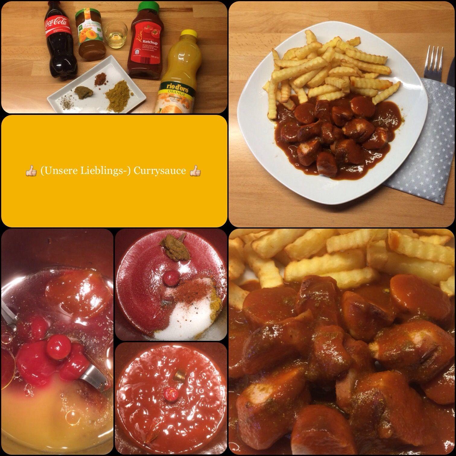 Currysauce Selber Machen Mit Cola