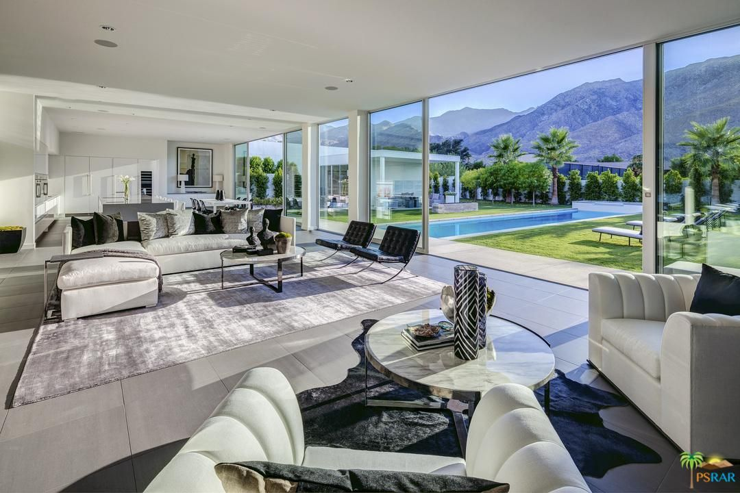 Indoor Outdoor Living At Linea Palm Springs Ca Luxury