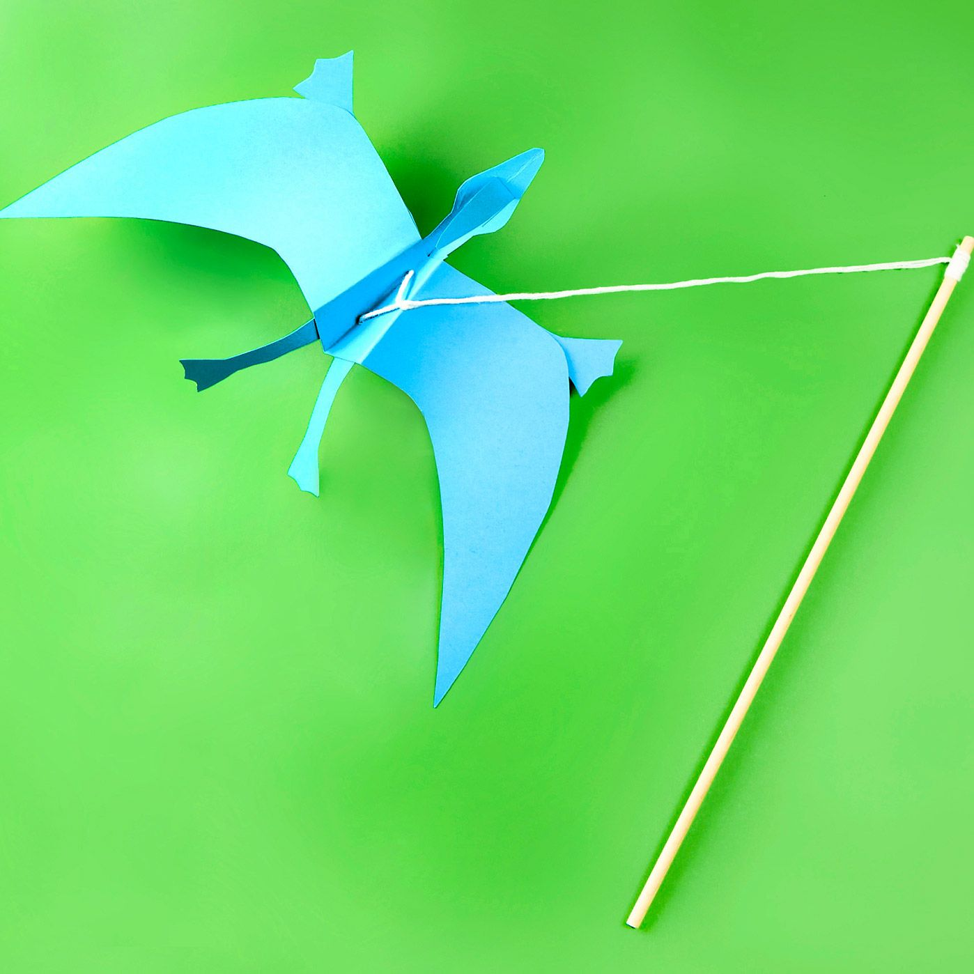 Land of Dinosaurs: Flying Pterodactyl | Crafts