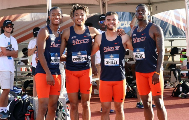 Men S 4x4 Relay Finishes 12th In The Country Garner Second Team All America Honors Cal State Fullerton Athletics Athletic Events Student Athlete Teams