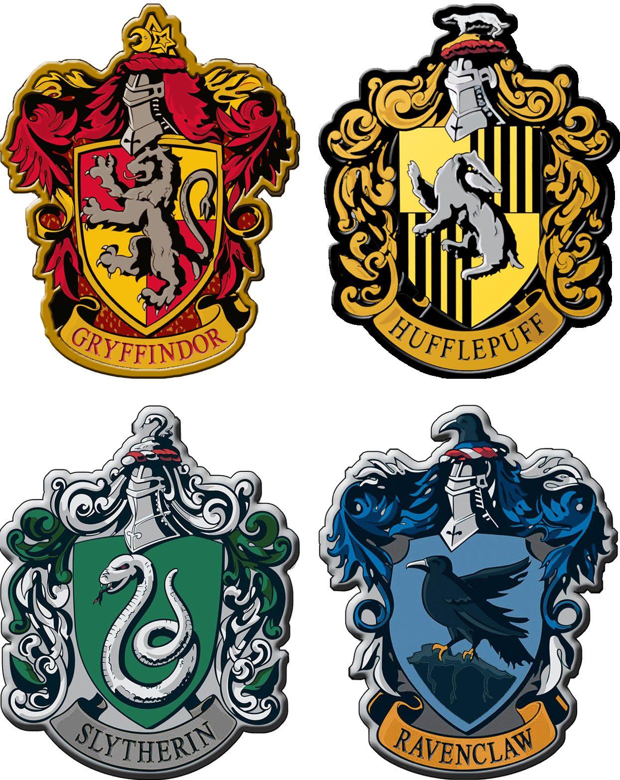 Hogwarts House Crest Ornaments Harry Potter Stickers Harry Potter Logo Harry Potter Crest