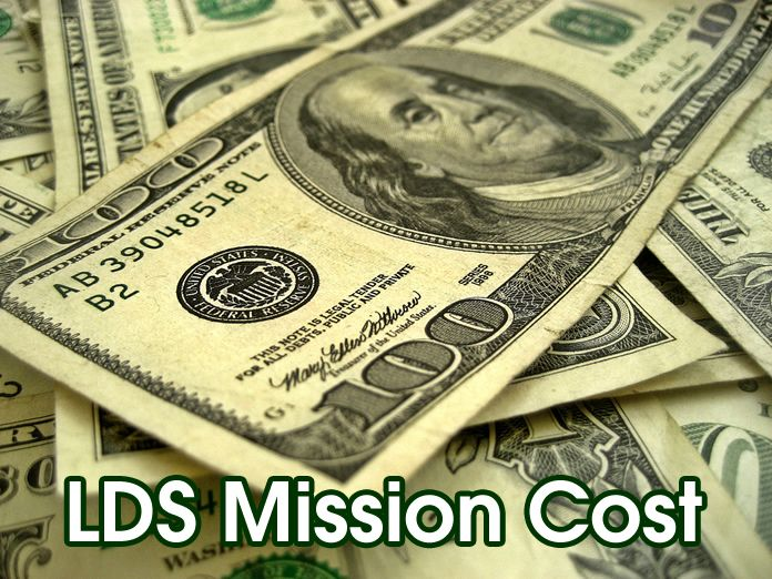 LDS Mission Cost - LayTreasuresInHeaven.com