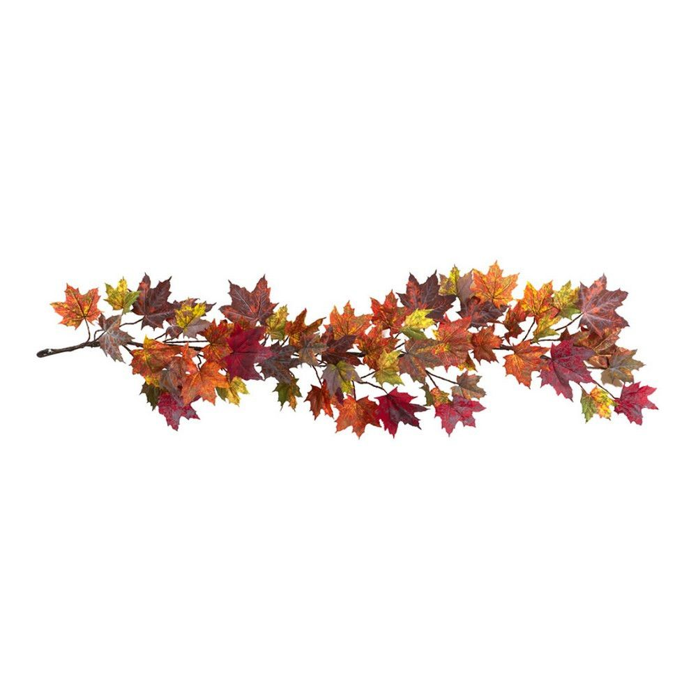 Artificial Maple Leaf Garland - 60 Inches