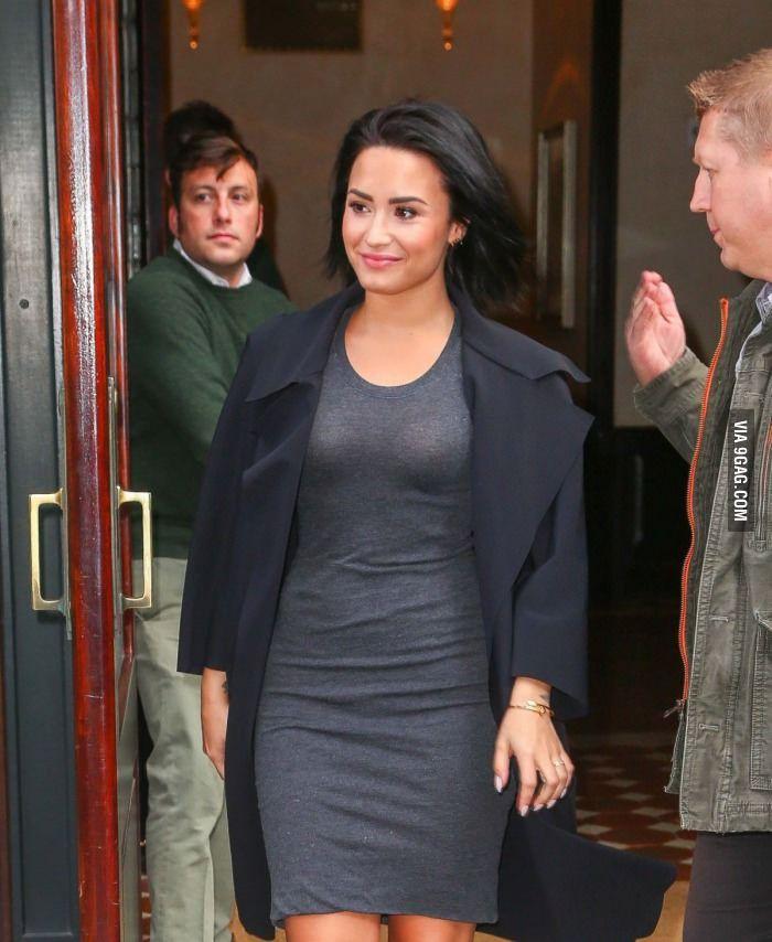 Demi Lovato Semi Transparent Dress Demi Lovato Style Demi
