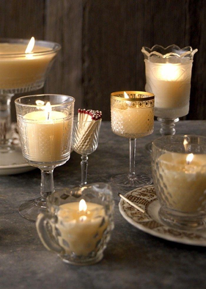 Kerzen Deko Tolle Diy Ideen Wie Sie Deko Mit Geschmolzenen Kerzen