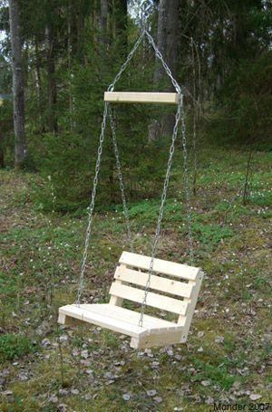 Bauen Baustellegarten Fakten Garden Garten Gartensaison Gartenspielen Gartentour Grosseschaukel Diy Swing Diy Patio Furniture Pallet Furniture Outdoor