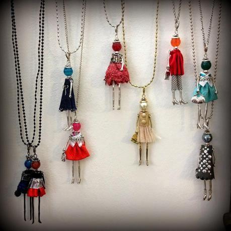 abbastanza Le collane bambolina di LOL Bijoux | Bijou, Collane e Bamboline VX63