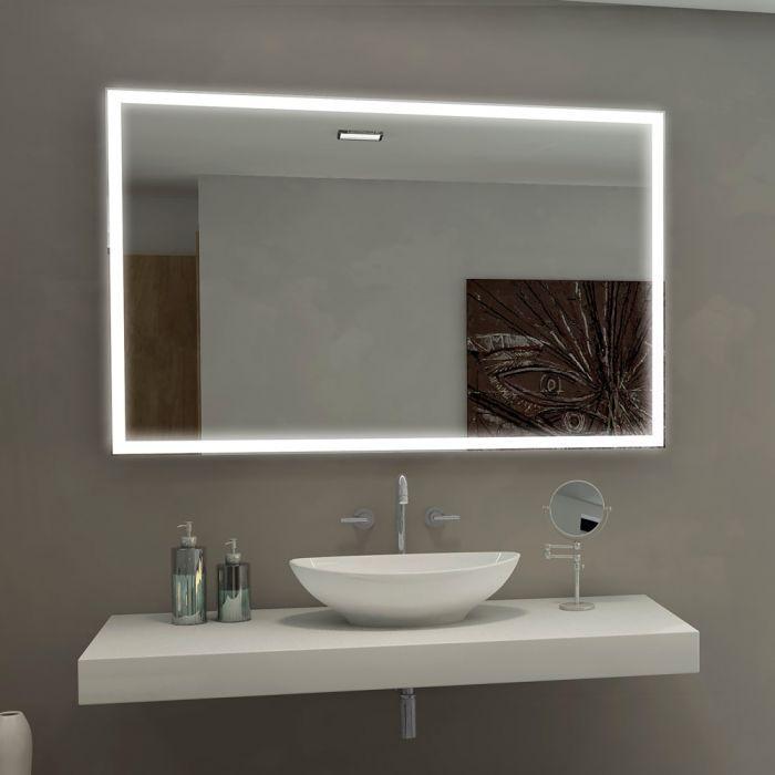 Harmony Bathroom Mirror Dual Illuminated LED Front and ...