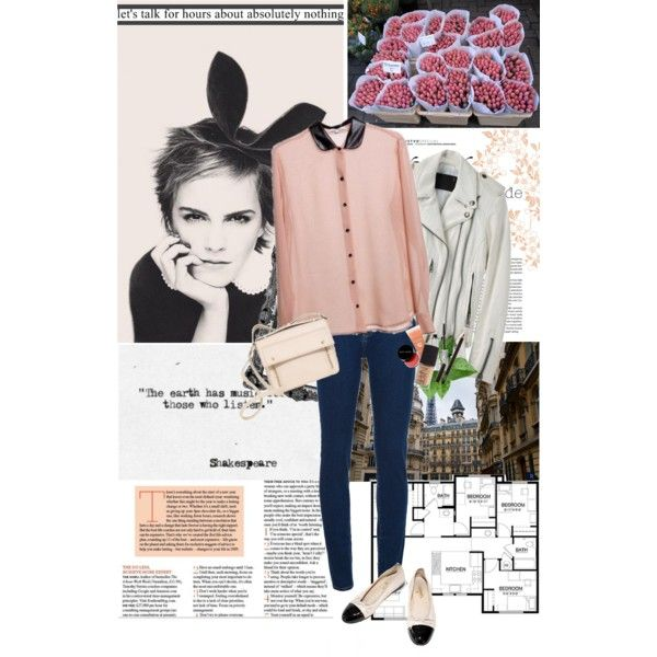 Happy Easter! by hug-voldemort on Polyvore featuring moda, R13, Wood Wood, 3.1 Phillip Lim, Chanel, Toast, Emma Watson, women's clothing, women's fashion and women
