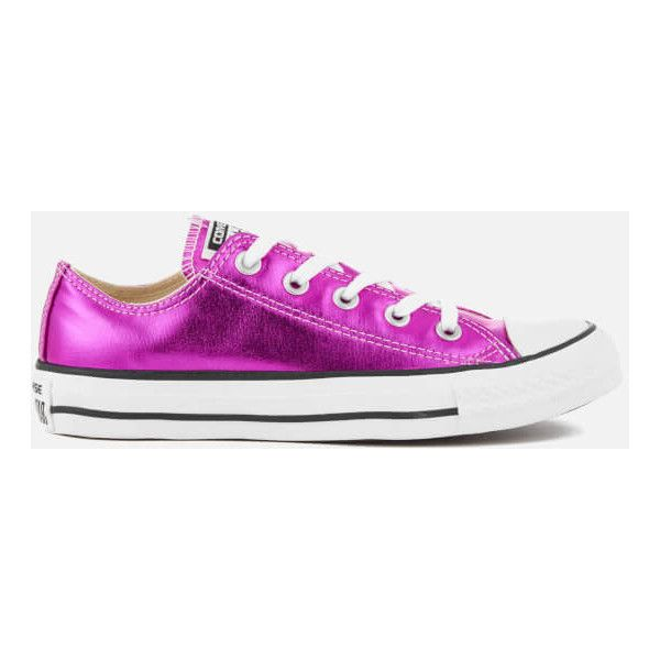 6108dfee5dae Converse Women s Chuck Taylor All Star Ox Trainers - Magenta... (€38 ...
