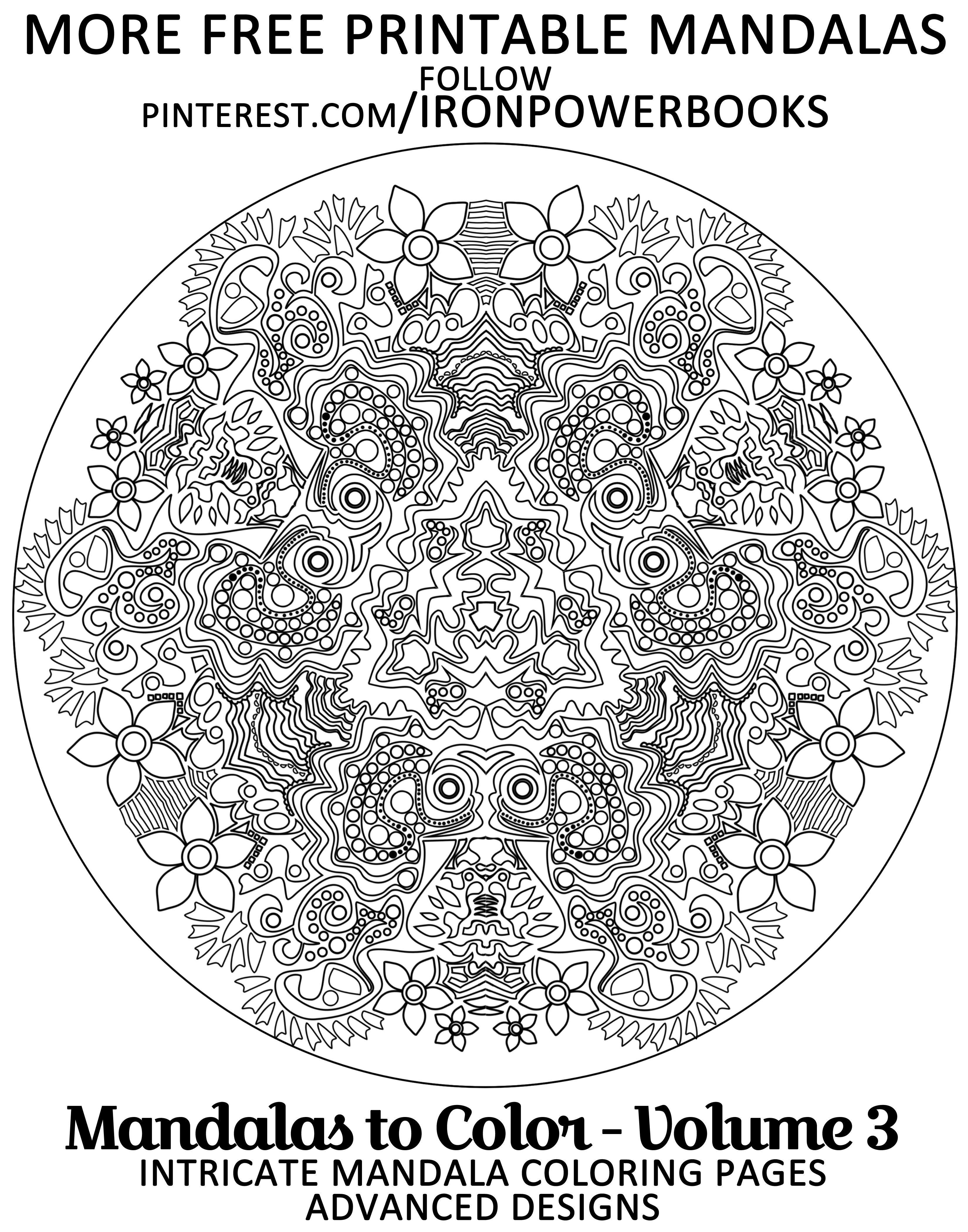 Free Printable Mandala Designs Follow Ironpowerbooks Or Order Your Copy At Http Www Amazon C Mandala Coloring Pages Mandala Coloring Mandala Coloring Books