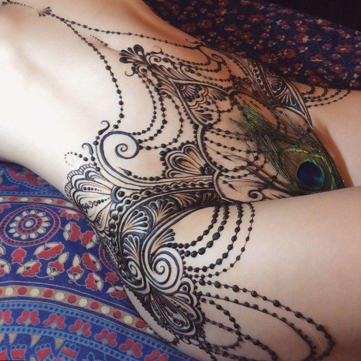 Art Nude With Mehndi Joshi Daniel Photography