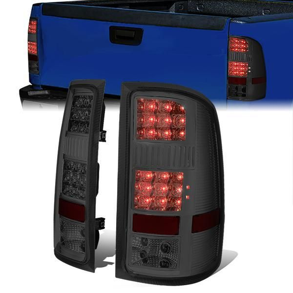 07-14 GMC Sierra 1500 2500 3500 LED Tail Lights
